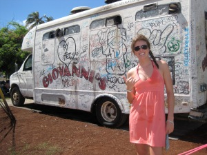Best shrimp truck in all of Oahu... Giovanni's.