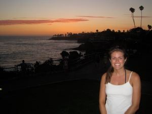 My Laguna Beach sunset. Chased down and well worth it.